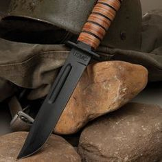 USMC fighting knife. I'd like a couple of these, since they're only $20! #budk