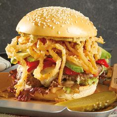 For a Fourth of July feast, create our recipe for Oregon Firecracker Burgers with cracklin' fried onion strings and other Oregon fixins!