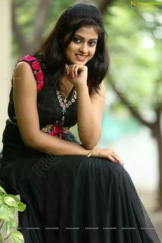 Meghashree Beautiful Girl Indian, Beautiful Saree, Beautiful Indian Actress, Hot Black Dress, Saree Photoshoot, Cute Girl Pic, Girl Photo Poses, Indian Celebrities, South Indian Actress