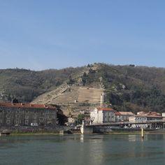View of Tournon from Tain-l'Hermitage