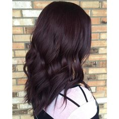 50 Shades of Burgundy Hair Dark Burgundy, Maroon, Burgundy with Red,... ❤ liked on Polyvore featuring hair