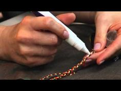 ▶ Creative Uses of Prism Threads and Friendship Bracelets | www.DMC-USA.com - YouTube