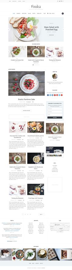 Foodica is perfect for creating food based blogs, magazines and recipe websites. Six colour schemes, a beautiful featured slider and carousel and WooCommerce integration mean Foodica is featured packed to help you stand out.