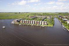 vogelvlucht impressie - Bouwbedrijf Lont - Suderstienplaat Leeuwarden