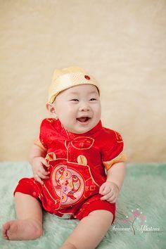 Little Chinese boy.