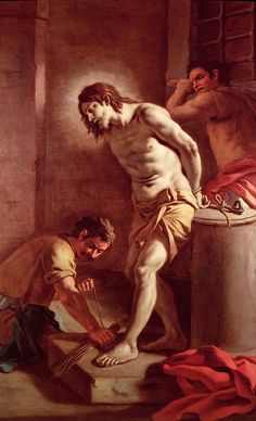 Pietro Bardellini Flagellation of Christ print for sale. Shop for Pietro Bardellini Flagellation of Christ painting and frame at discount price, ships in 24 hours. Catholic Art, Catholic Saints, Religious Art, Jesus Art, God Jesus, Flagellation, Pictures Of Jesus Christ, Biblical Art, Christian Faith
