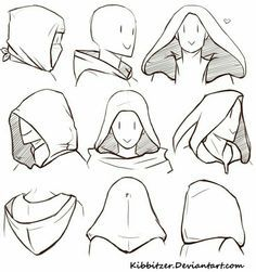 How to Draw a Hood; How to Draw Manga/Anime