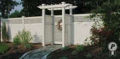 16 feet by 14 feet pergolas | Exquisitely designed, this pergola and gate captures the details of ...