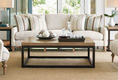 Open frame coffee table