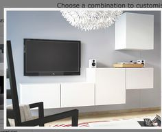 An asymmetrical design.  Would you consider this option, or do you want the fireplace/TV in the centre of the wall?