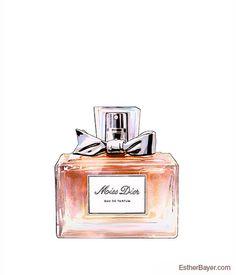 Miss Dior Eau de Parfum flacon coloré Fashion par EstherBayer