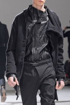 "monsieurcouture: ""Boris Bidjan Saberi F/W 2013 Menswear Paris Fashion Week """