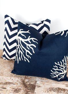 Sea inspired pillows