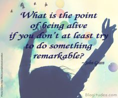What's the point of living? Image Quote via http://blogitudes.com #Quotes