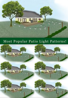 How to Plan and Hang Patio Lights – Christmas Lights, Etc How to Plan and Hang Patio Lights – Christmas Lights, Etc,House Ideas How to Hang Patio Lights – Popular Outdoor Lighting Designs