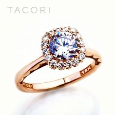 Perfection.  In love with this ring!