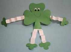 Patrick's Day man craft with shamrock templates is a great way to turn simple shamrocks into something unique and fun. This happy guy makes a st patricks day images Shamrock Man March Crafts, St Patrick's Day Crafts, Daycare Crafts, Classroom Crafts, Toddler Crafts, Preschool Crafts, Holiday Crafts, Kids Crafts, Arts And Crafts
