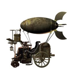 Flying machine by *mysticmorning #Steampunk