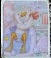 Vintage Duck Bath Sticker