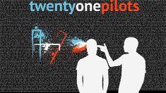 Twenty One Pilots Typography Art Wallpaper Wallpaper