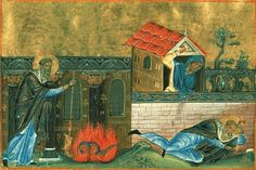 In the year 326 St Hypatius returned from Constantinople to gangrene in the wilderness. He was attacked by followers and dissenters. Heretics wounded him with swords and staves and threw him from a high bank into the swamp. One woman struck the saint on the head with a stone and he died. The killer hid the body of the martyr in a cave where he was found by a farmer. He hastened to inform the city whose residents honorably buried the relics of their beloved Archbishop.