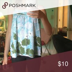 Floral tank top Slightly worn but still in good condition Roxy Tops Tank Tops