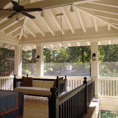Hanging Daybed Design, Pictures, Remodel, Decor and Ideas