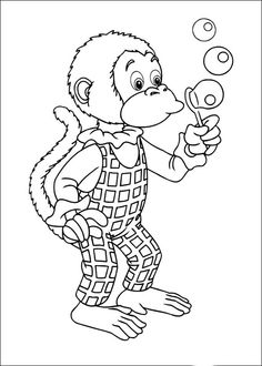 Noddy Coloring Pages 1