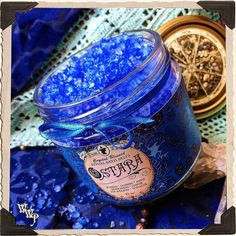 OSTARA BATH SALTS Alchemy. Spring Equinox. Juniper, Jasmine, Peppermint, Lemon & Anise. Blessed by Aquamarine & Sodalite.