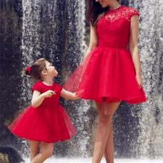 Red Tulle Charming Prom Dresses Short/Mini Evening Dresses Prom Dresses Real Made Prom Dresses