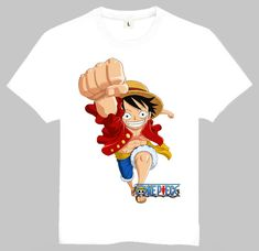 Mens Japan Hot Anime One Piece Luffy Gear 4 Printing T-shirt Luffy Gear 4 Top Tees Shirt One Piece Luffy, One Piece Anime, Luffy Gear 4, Anime Merchandise, Us Man, Anime Outfits, White Tees, Hot Anime, Tee Shirts