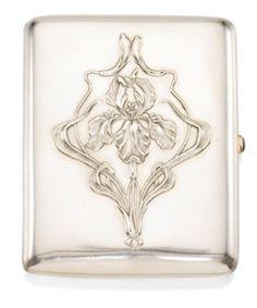 A Fabergé silver cigarette case, Moscow, 1899-1908 - Sotheby's