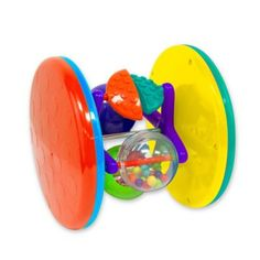 Sassy Fascination Roll Around Stem Toy - Encourage your baby to crawl with Sassy's Fascination Roll Around Stem Toy. The bright colors, cascading beads and spinning center also engage the senses and help develop motor skills. Perfect for gifting. Baby Letters, Foam Letters, Activity Cube, Activity Toys, Baby Learning Toys, Baby Calm, Baby Invitations, Developmental Toys, Interactive Toys