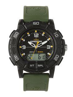 Ceasuri barbatesti - Ceas barbatesc Timex EXPEDITION T49967 - Zibra