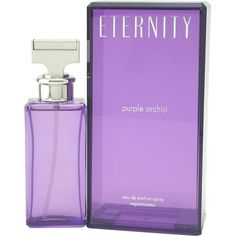Eternity Purple Orchid By Calvin Klein Eau De Parfum Spray
