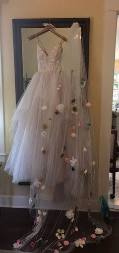 Cathedral Length Customized Floral Veil