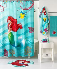 Disney Bath, Little Mermaid Shimmer and Gleam Collection - - Macy's