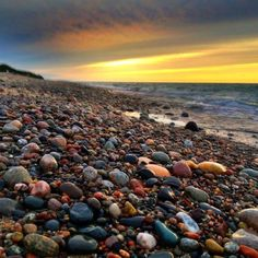 Grand Marais, MN.   Agate hunting, rugged shoreline on Lake Superior, great home cooking.