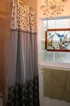 French Country Shower Curtain by MaribelClaribel on Etsy
