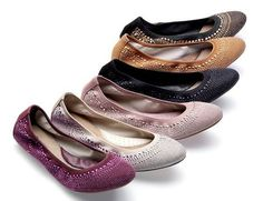 Hush Puppies Chaste Ballet with studs. I want a pair in each color