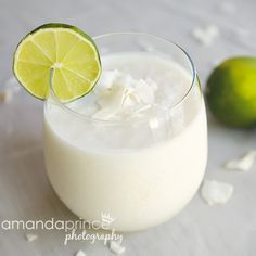 lime coconut smoothie #recipe #drinks #sweetlife