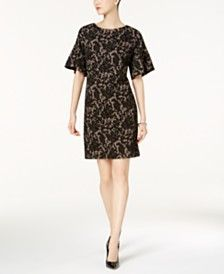 3/4 Sleeve Holiday Party Dresses for Women - Macy's