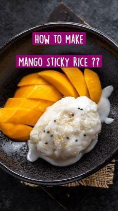 Peanut Recipes, Gf Recipes, Great Recipes, Vegetarian Recipes, Cooking Recipes, Favorite Recipes, Mango Sticky Rice, Good Food, Yummy Food