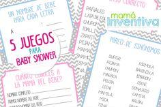 5 Juegos de Baby Shower – Parte 2
