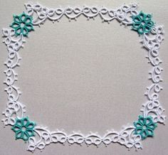 Mary Konior, found in her book 'Tatting Patterns' on pg 11. Corner would make nice focal for a necklace.