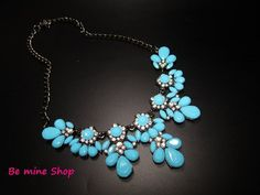 Hippie Style, Metal Chain, Turquoise Bracelet, Vintage Fashion, Etsy, Color, Jewelry, Neck Chain