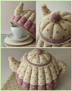 Милые сердцу штучки Sewing Hacks, Sewing Crafts, Sewing Projects, Tea Cosy Pattern, Handmade Christmas Crafts, Thanksgiving Diy, Tea Cozy, Diy Home Crafts, Craft Work