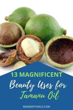 Tamanu Oil Uses - this essential oil has many uses and benefits for skin care and beauty. Learn more about how to use it here. Essential Oils Guide, Essential Oil Uses, Tamanu Oil, Healthy Oils, Oil Benefits, Carrier Oils, Beauty Recipe, Natural Skin Care, Natural Hair