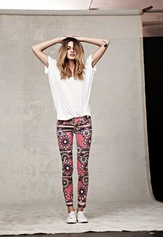 Need these skinny jeans. And to be this skinny. And maybe a tattoo on my arm.