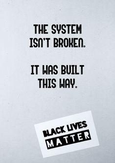 #blm #blacklivesmatter For all lives to matter so must black lives.